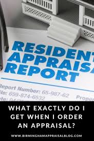 What exactly is an appraisal?