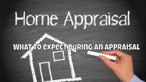 What happens during a home appraisal?